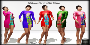 SAS - Palomma No. 2 Hud Dress Vendor