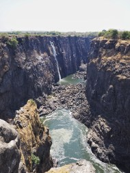 Eastern End of Vic Falls