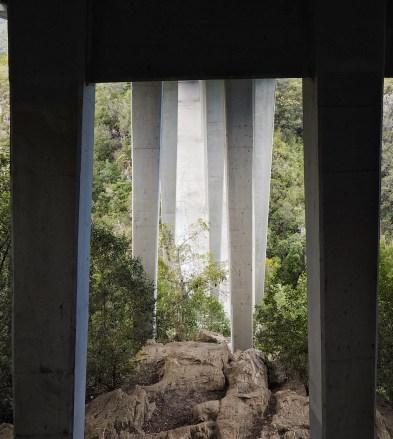 Under Storm Mouth Bridge