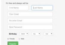 Saving Data from Registration Form into MySQL Database using PHP/MySQL