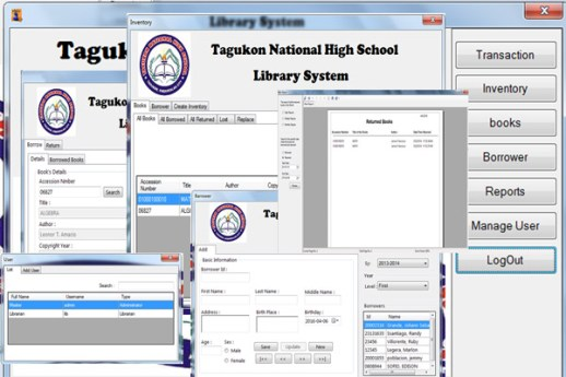 TNHS Library System