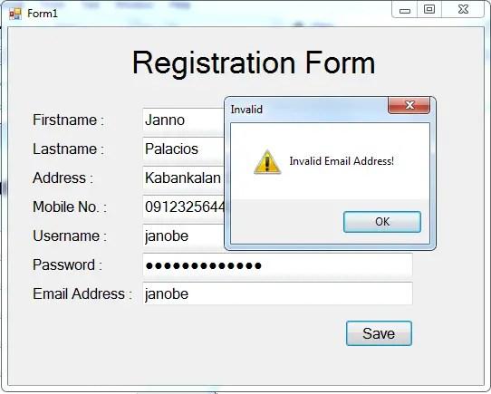validationFormRegexFig.3 Regular Expression