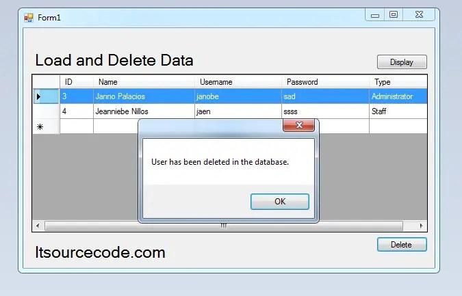LoadDeleteMySQL.Fig.2135