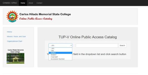 Free Online Public Access Catalog Using PHP MySQLi Source code