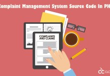 Complaint Management System Source Code In PHP