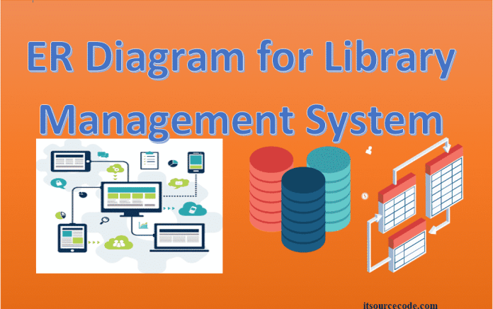 ER Diagram For Library Management System Featured