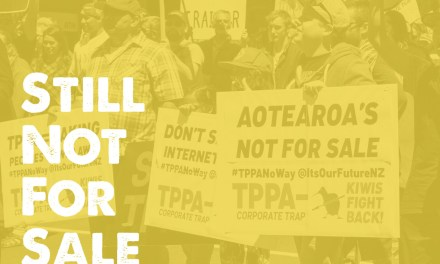 Speeches from Auckland anti-TPPA Rally March 2018
