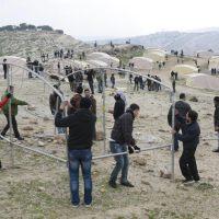 Photos :: Bab Al Shams Setup and Invation by Israel Defence Force