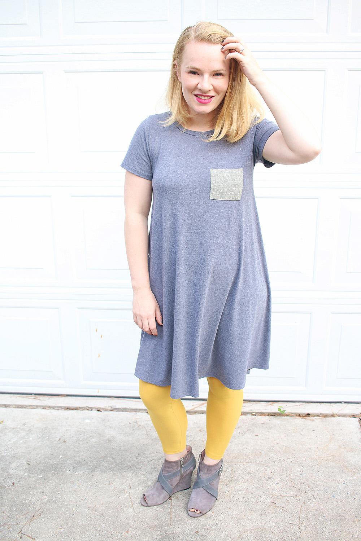 Lularoe Carly Dress & Booties