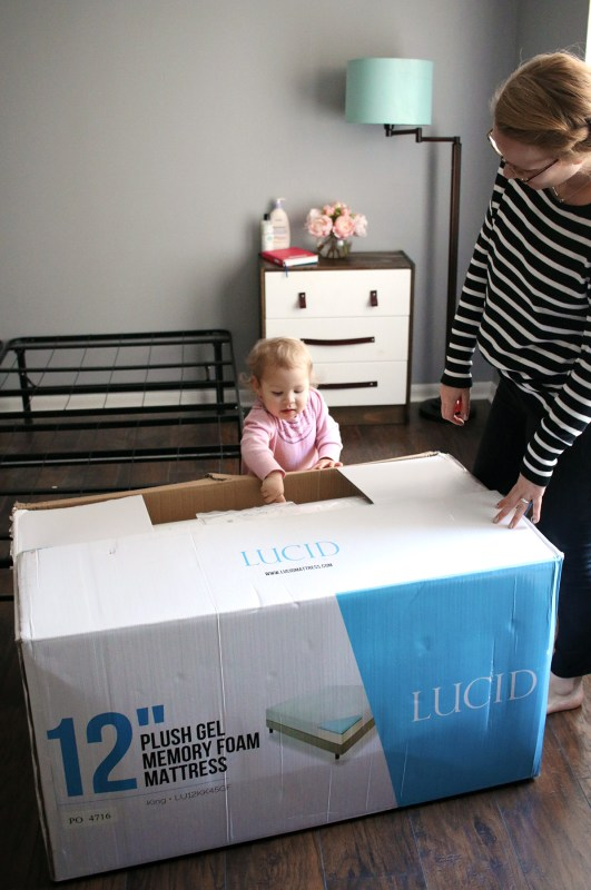 A New Mattress for Mama with Lucid Mattress