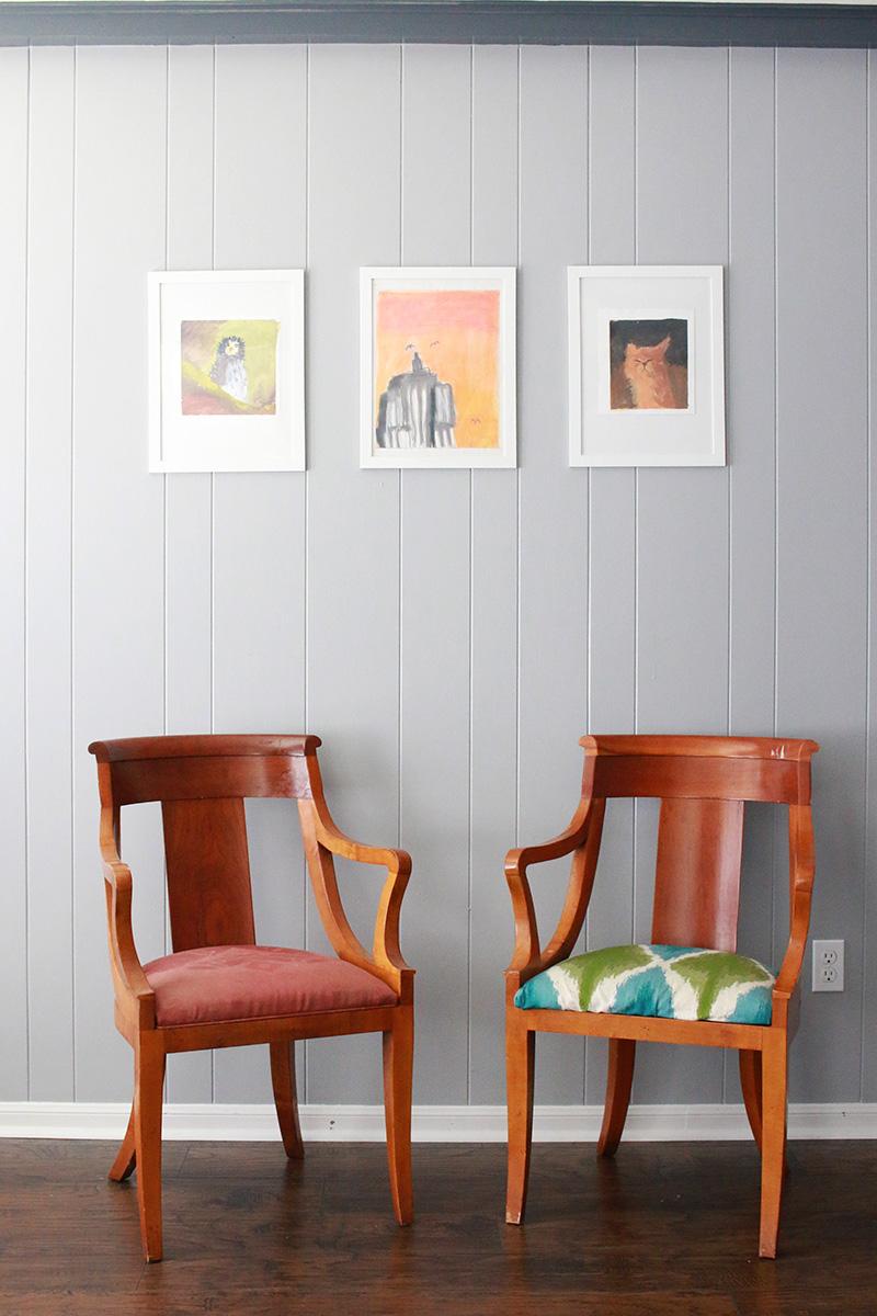 thrift store chair diy