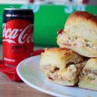Jalapeño Popper Chicken Sliders Recipe