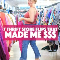 7 Awesome Thrift Store Flips!