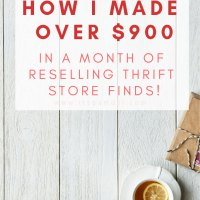 Reselling Thrift Store Finds: I Made $900+ in March!