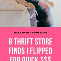 8 Thrift Store Finds Flipped For a Profit!
