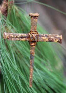Iron Cross Nail Ornament