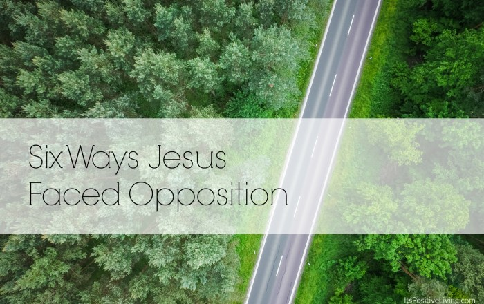 Six Ways Jesus Faced Opposition