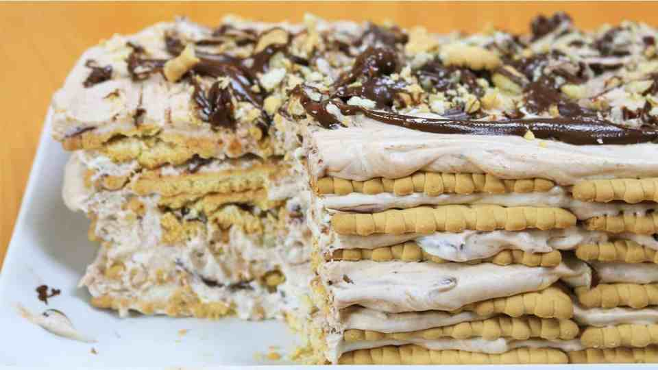 Nutella Hazelnut Icebox Cake