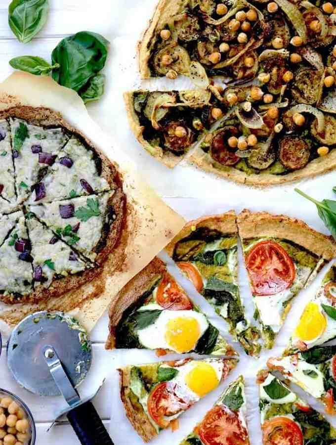 cauliflower pesto pizza, Cauliflower pizza, cauliflower, pizza, healthy pizza, pesto, pesto pizza, homemade pesto, healthy recipes, new year recipes, cauliflower dinner, dinner ideas, egg pizza, vegan cheese pizza, grilled vegetables, healthy pizza recipe, healthy pizza recipes, cauliflower crust, cauliflower pizza crust, healthy food, recipes, how to cook
