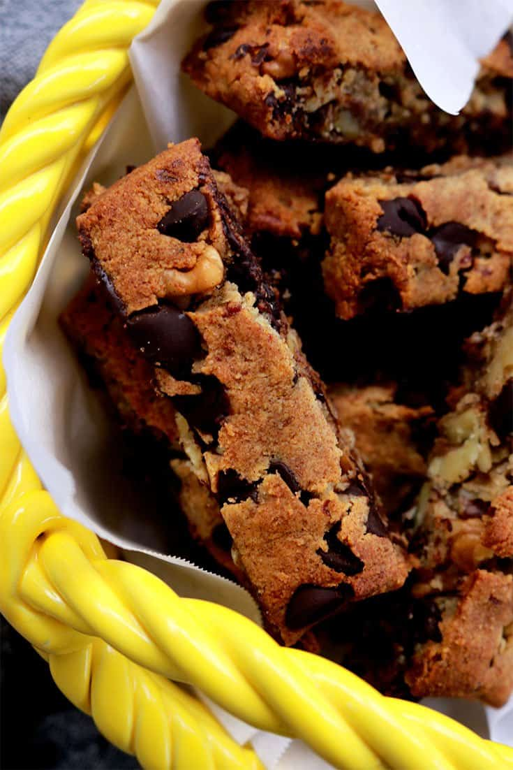 passover chocolate chip walnut cookie sticks, passover chocolate walnut cookie sticks, passover recipes, peach recipes, chocolate chip cookies, gluten free chocolate chip cookies, gluten free cookies, chocolate chip cookie stick
