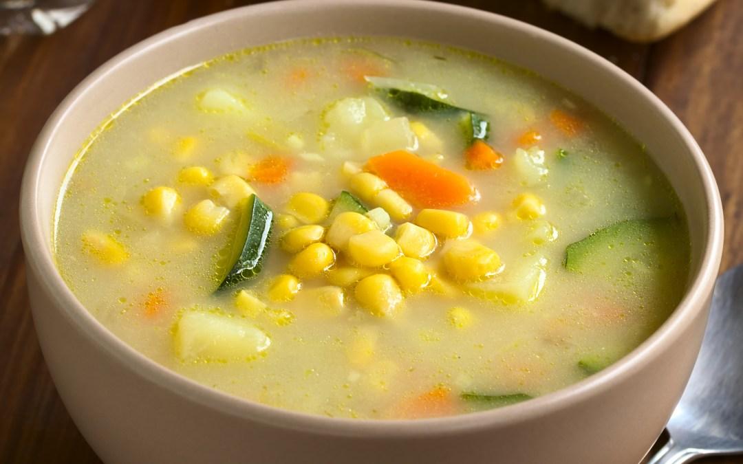 Potato and Corn Chowder Soup