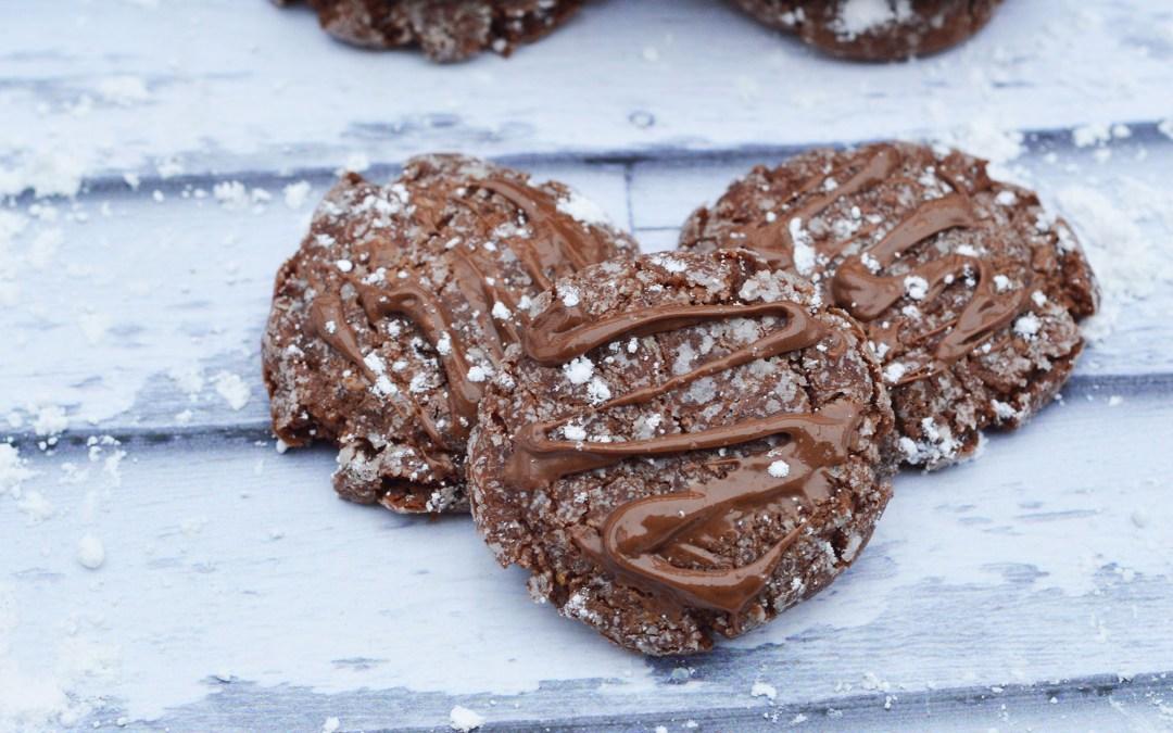 Dusty Nutella Cookies