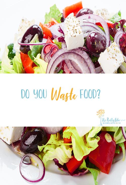 do you waste food