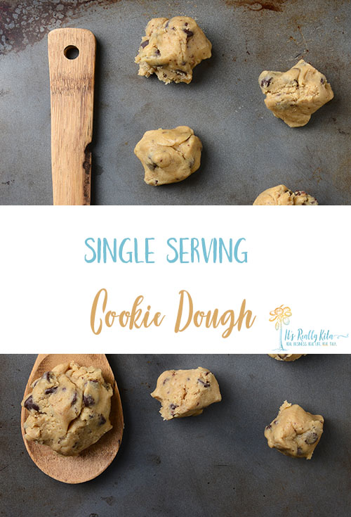 Single Serving Cookie Dough