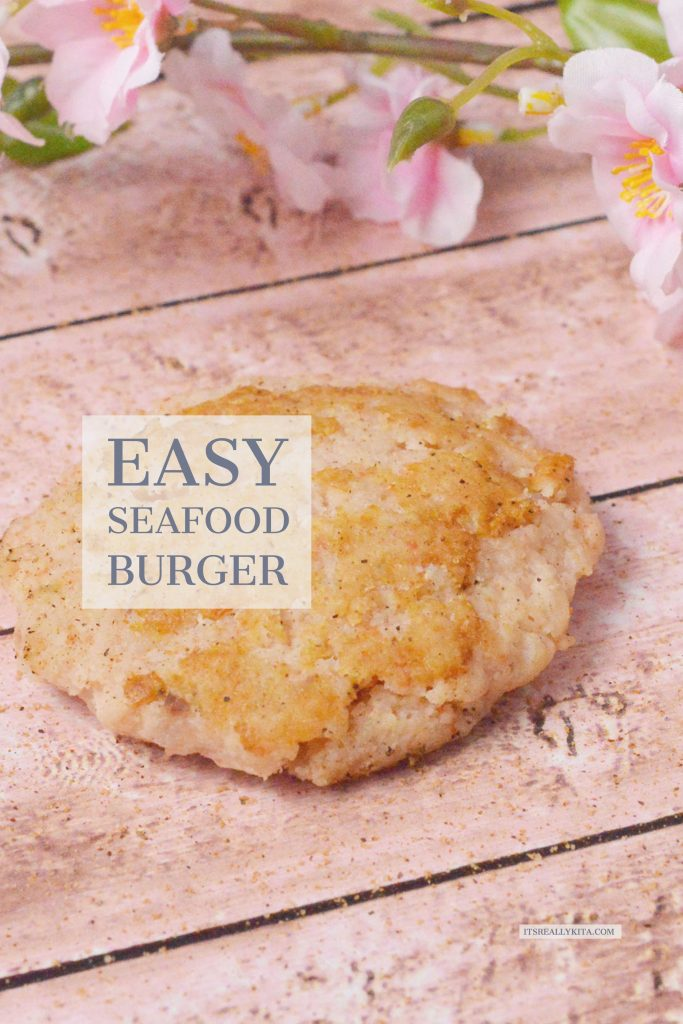 Easy Seafood Burger