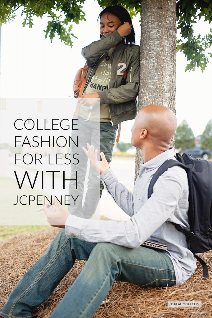 College fashion for less with Jcpenney