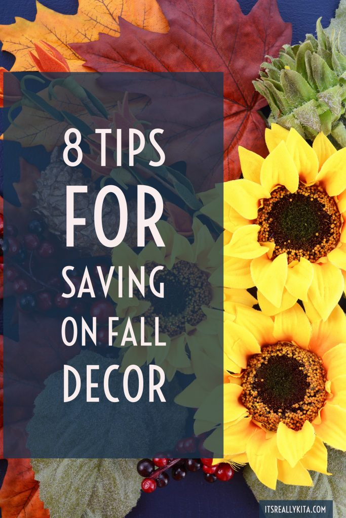 8 Tips for saving on Fall Decor