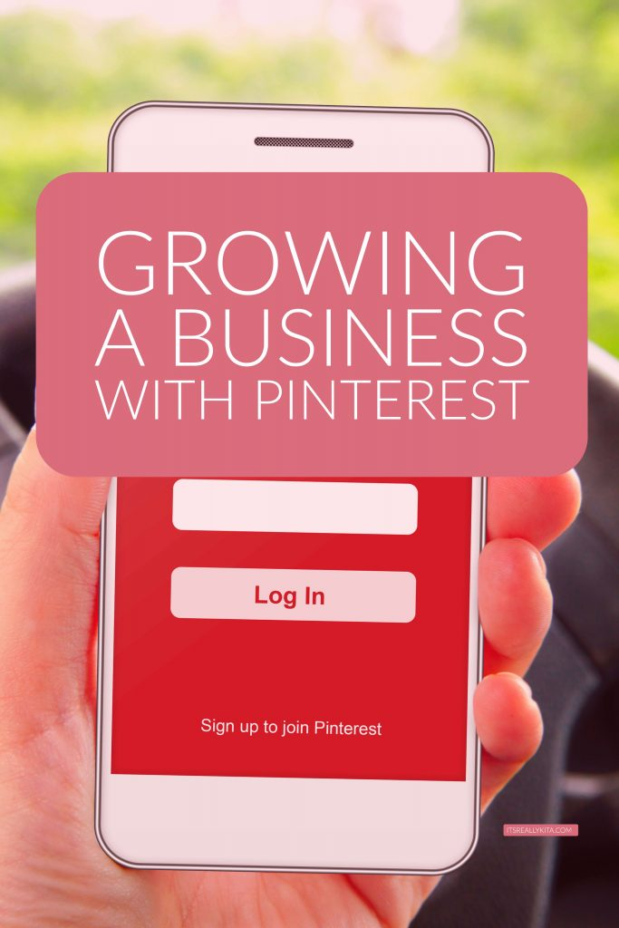 Growing a business with Pinterest