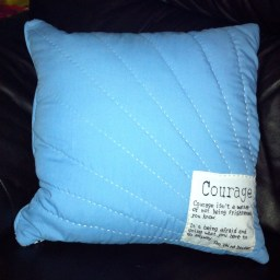 Cushion back.