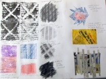 Rubbings and collage