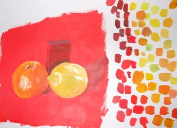 fruit and block colour matching
