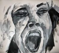 acrylic scream 1