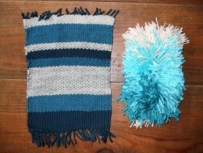weaving samples 1 + 2