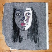 self portrait embroidedry
