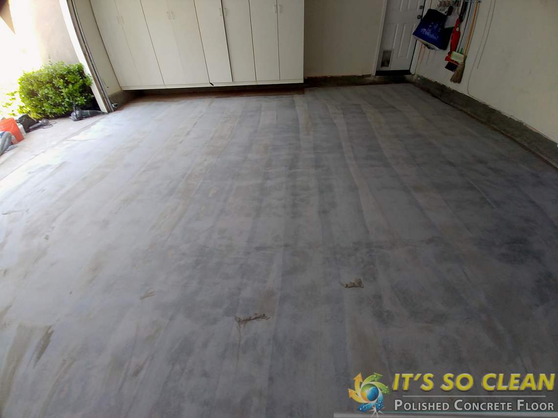 Polished Garage Floor