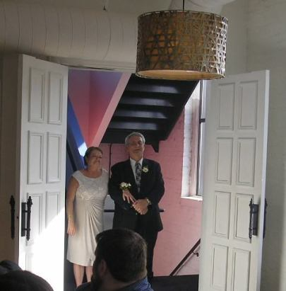 Grand entrance and where the guests entered
