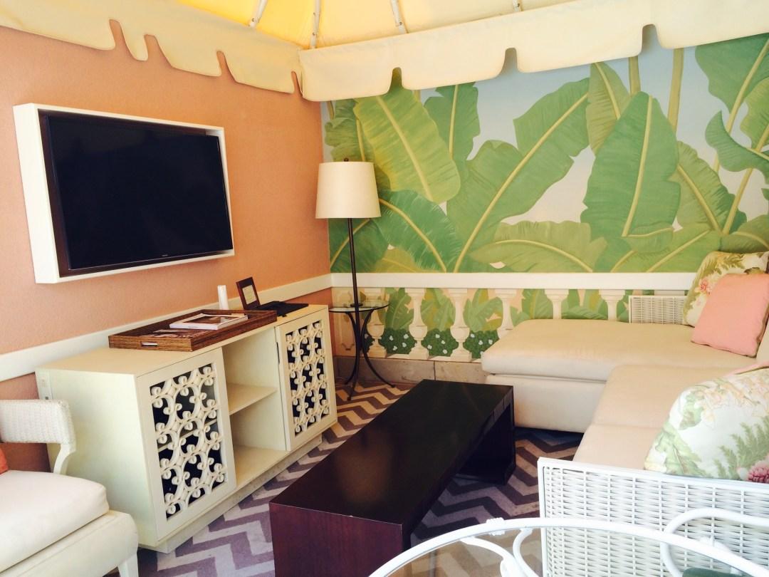 Cabanas at Beverly Hills Hotel