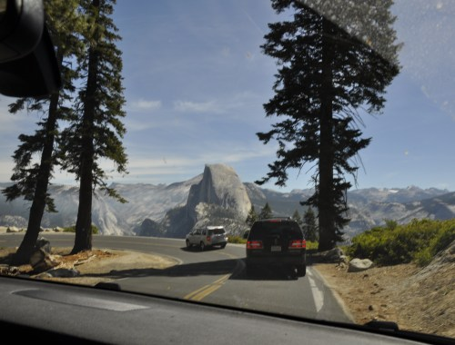 Driving Yosemite