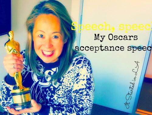 oscars speech