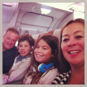Qantas A380 SYD-LA