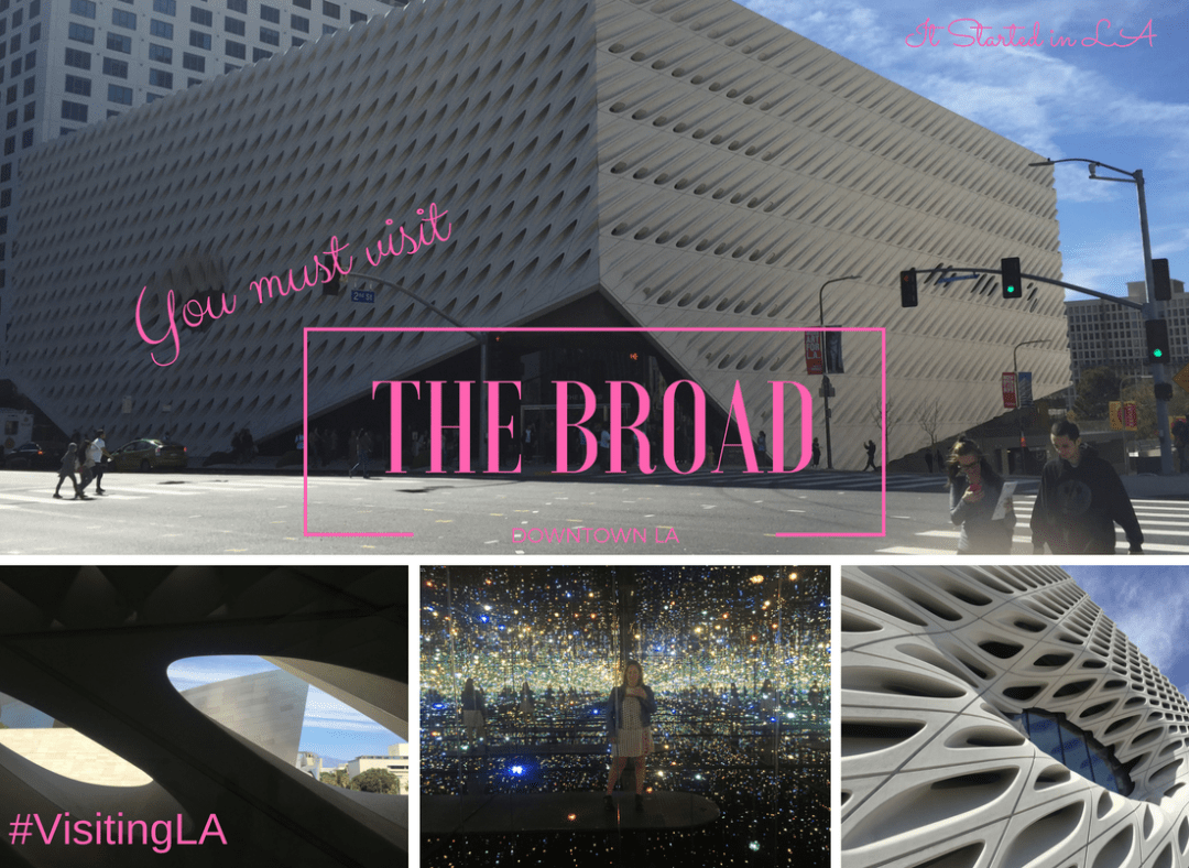When you're in LA you simply must visit The Broad; get the low-down here   It Started in LA   itstartedinla.com