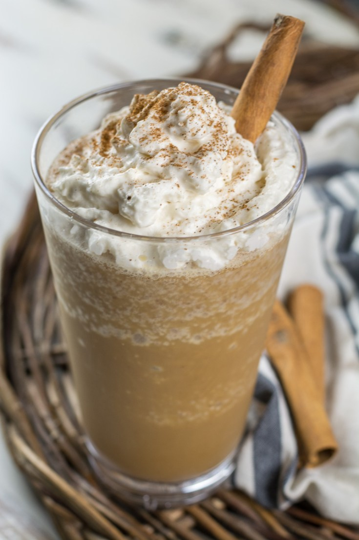 This Keto Cinnamon Frappuccino is a fraction of the cost and carbs of your coffee shop favorite. At just 2.1 net carbs this low carb pick-me-up is a coffee drinker staple.