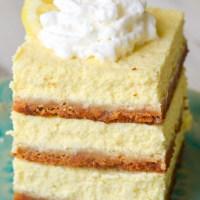 Easy Keto Lemon Cheesecake Bars