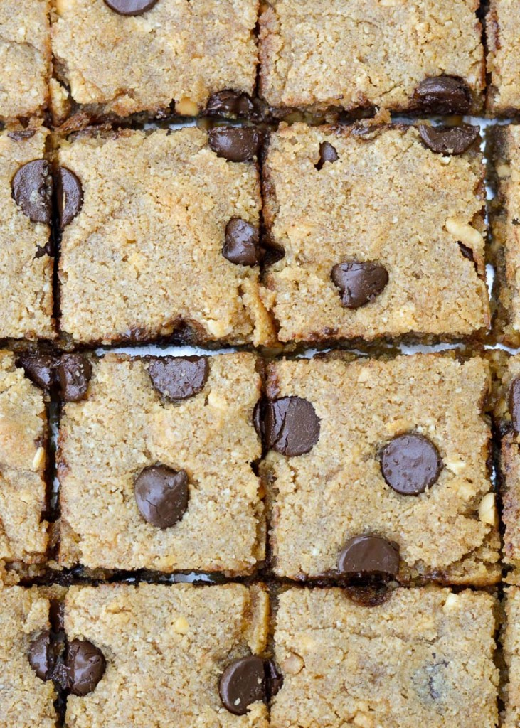 These grain free Chocolate Chip  Bars are an easy keto-friendly treat for about 5 net carbs each!