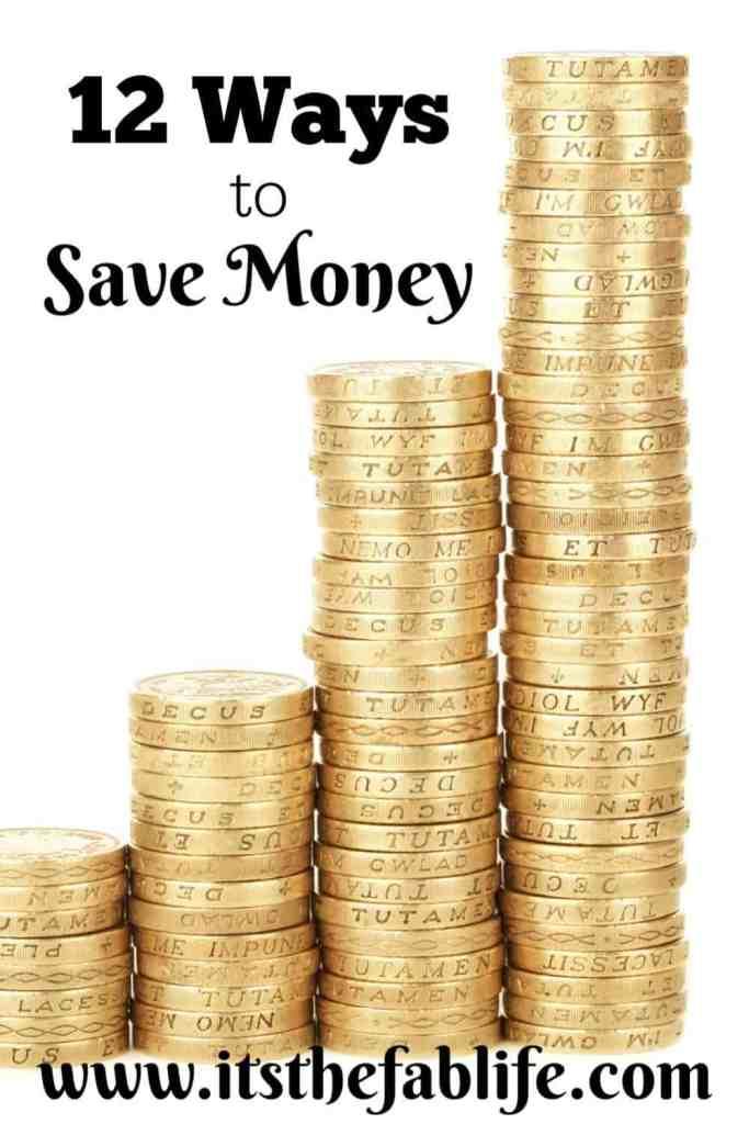 12 Ways to Save Money | Reduce Bills | Financial Planning | #savings #savemoney #fabfinances