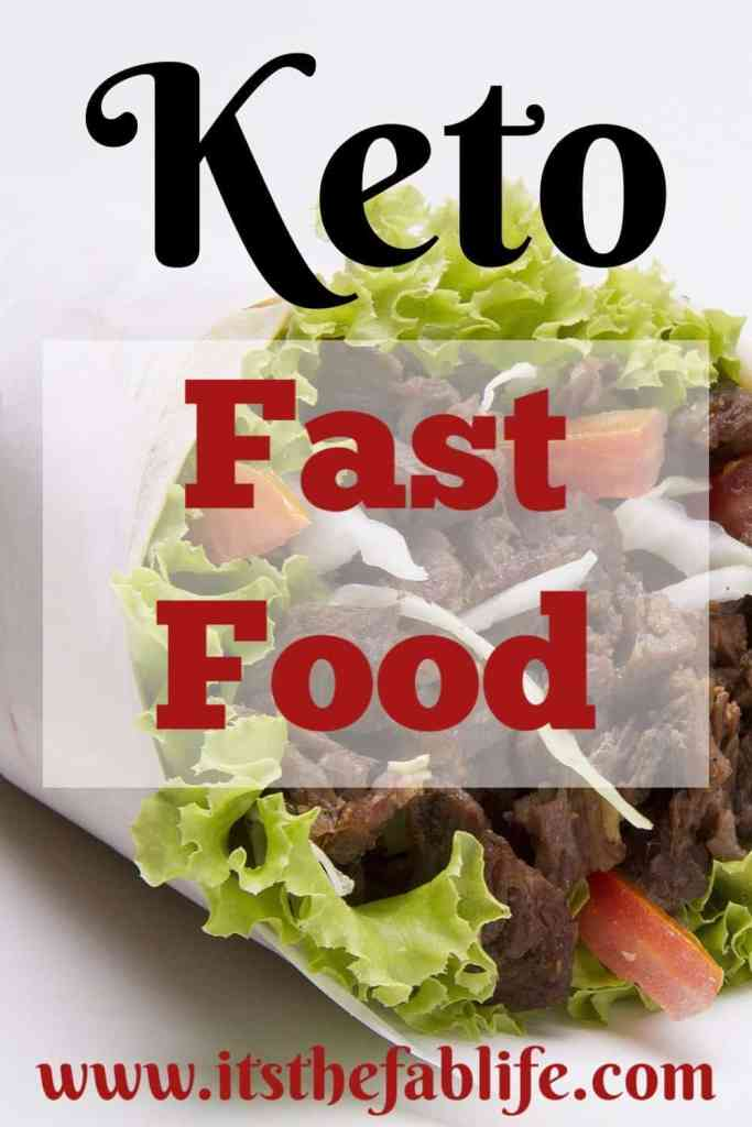 Keto Fast Food Options | Keto Diet | Fast Food | #keto #healthyeating #weightloss #thefitlife